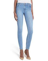 James Jeans - Blue Ankle Denim Leggings - Lyst