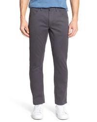 Bonobos   Gray 'bedford - Carpenter' Slim Fit Corduroy Pants for Men   Lyst