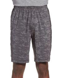 Adidas Originals - Gray Stripe Training Shorts for Men - Lyst
