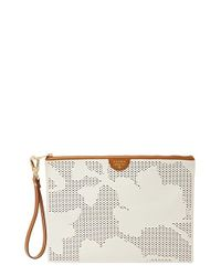 Fossil - White Large Wristlet - Lyst