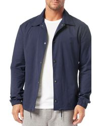 Michael Stars   Blue Shirt Jacket for Men   Lyst