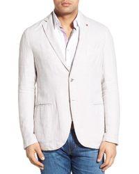 Stone Rose - White Regular Fit Linen Sport Coat for Men - Lyst