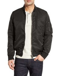 Spiewak - Black 'spitfire' Ma-1 Bomber Jacket for Men - Lyst