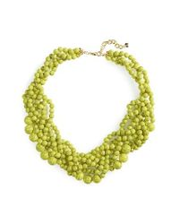 BaubleBar | Green 'bubblestream' Collar Necklace | Lyst