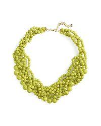 BaubleBar | Green 'bubblestream' Collar Necklace | Lyst