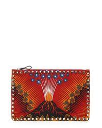Valentino | Multicolor 'rockstud' Nylon Pouch | Lyst