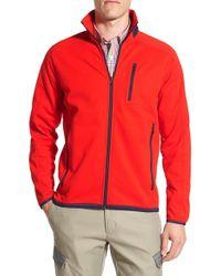 Victorinox - Red Victorinox Swiss Army 'reiter' Regular Fit Track Jacket for Men - Lyst