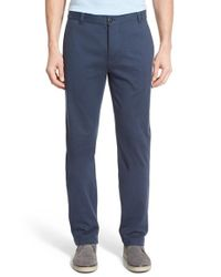 Victorinox - Blue Victorinox Swiss Army 'basejumper' Knit Cotton Pants for Men - Lyst