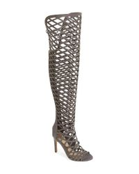 Vince Camuto | Black 'keliana' Over The Knee Boot | Lyst