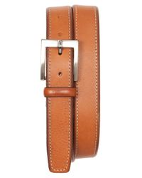 Tommy Bahama | Brown Contrast Stitch Leather Belt for Men | Lyst