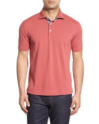 Brooks Brothers - Red Slim Fit Cotton Polo for Men - Lyst