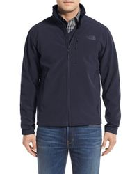 The North Face | Blue 'apex Bionic 2' Windproof & Water Resistant Soft Shell Jacket for Men | Lyst