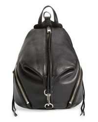 Rebecca Minkoff | Black 'medium Julian' Backpack | Lyst