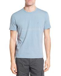 John Varvatos | Blue Peace Sign Crewneck T-shirt for Men | Lyst
