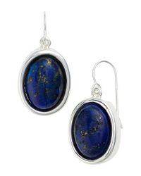 Simon Sebbag - Metallic Stone Drop Earrings - Lyst