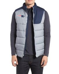 Nike - Gray Nfl - New England Patriots Quilted Vest for Men - Lyst