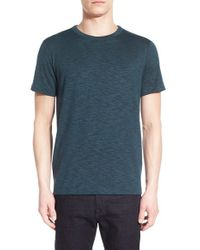 Theory | Blue 'andrion Anemone' Crewneck T-shirt for Men | Lyst