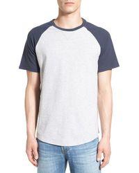 Tailor Vintage | White Short Sleeve Baseball T-shirt for Men | Lyst