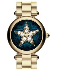 Marc Jacobs | Metallic 'dotty' Round Bracelet Watch | Lyst