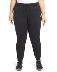 Nike   Gray French Terry Sweatpants for Men   Lyst