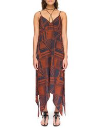 The Fifth Label - Blue 'lost Paradise' Print Maxi Dress - Lyst