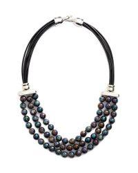Simon Sebbag - Multicolor Stone Bib Necklace - Lyst