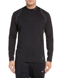 Nike - Gray Hyperwarm T-shirt for Men - Lyst