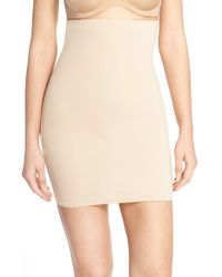 Spanx | Natural Spanx 'lust Have' High Waist Half Slip | Lyst