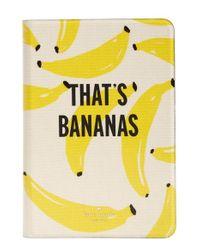kate spade new york - Yellow Bananas' Ipad Mini & Ipad Mini 3 Case - Lyst
