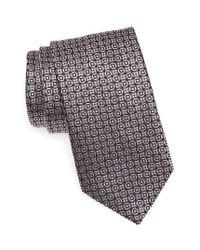 Brioni | Multicolor Geometric Silk Tie for Men | Lyst