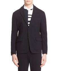 Tomorrowland - Blue 'roma' Cardigan Jacket for Men - Lyst