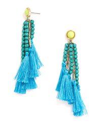 BaubleBar | Blue Blossom Studs | Lyst