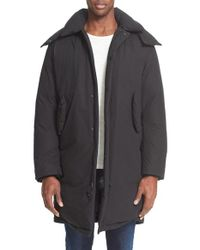 Acne Studios - Black 'halifax' Down Coat for Men - Lyst