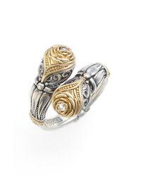 Konstantino - Metallic 'iliada' Champagne Diamond Ring - Lyst
