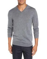 Bonobos   Gray Slim Fit Merino Wool Sweater for Men   Lyst