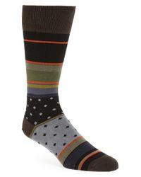 Paul Smith   Black Stripe Socks for Men   Lyst