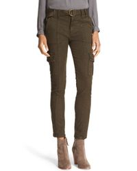 Joie - Multicolor 'surplus' Stretch Twill Skinny Cargo Pants - Lyst