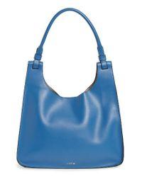 Lodis | Blue Blair Collection - Dara Italian Leather Hobo | Lyst