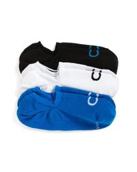 Calvin Klein - Blue No-show Socks - Lyst