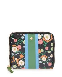 Tory Burch | Multicolor Patent Wallet | Lyst