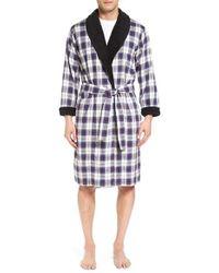 Ugg   Blue Ugg 'kalib' Cotton Robe for Men   Lyst