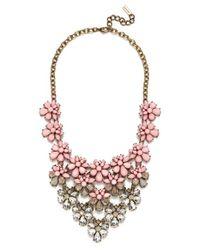 BaubleBar | Pink 'anthena' Bib Necklace | Lyst