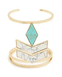 Danielle Nicole | Blue 'the Elements' Cuff | Lyst