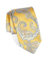Robert Talbott | Brown Paisley Silk Tie for Men | Lyst