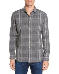 Grayers | Gray Douglas Regular Fit Plaid Double Woven Sport Shirt for Men | Lyst