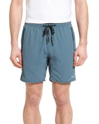 RVCA | Blue Sport Yogger 2 Athletic Shorts for Men | Lyst