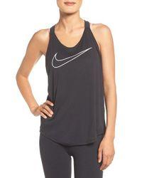 Nike | Black Elastika Graphic Dri-fit Tank | Lyst