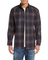 Pendleton | Blue 'fireside' Plaid Flannel Shirt for Men | Lyst