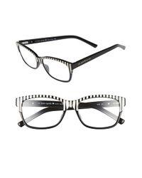 Kate Spade | Black Tenil 52mm Reading Glasses | Lyst