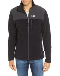 Helly Hansen | Black Sitka Fleece Jacket for Men | Lyst